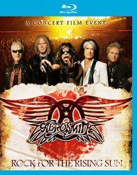 Cover Aerosmith - Rock For The Rising Sun [DVD]